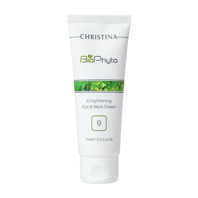Bio Phyto ш.9 Enlightening Eye&Neck Cream - Осветляющий крем для кожи вокруг глаз\шеи, 75мл