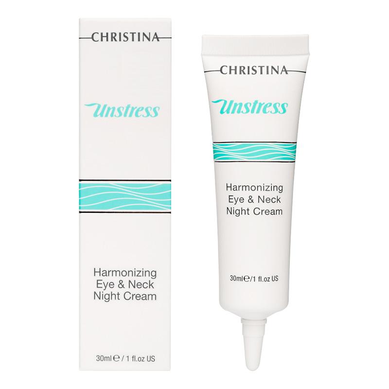 Unstress Harmonizing Night Cream for eye and neck- Гармонизирующий ночной крем для век и шеи, 30мл