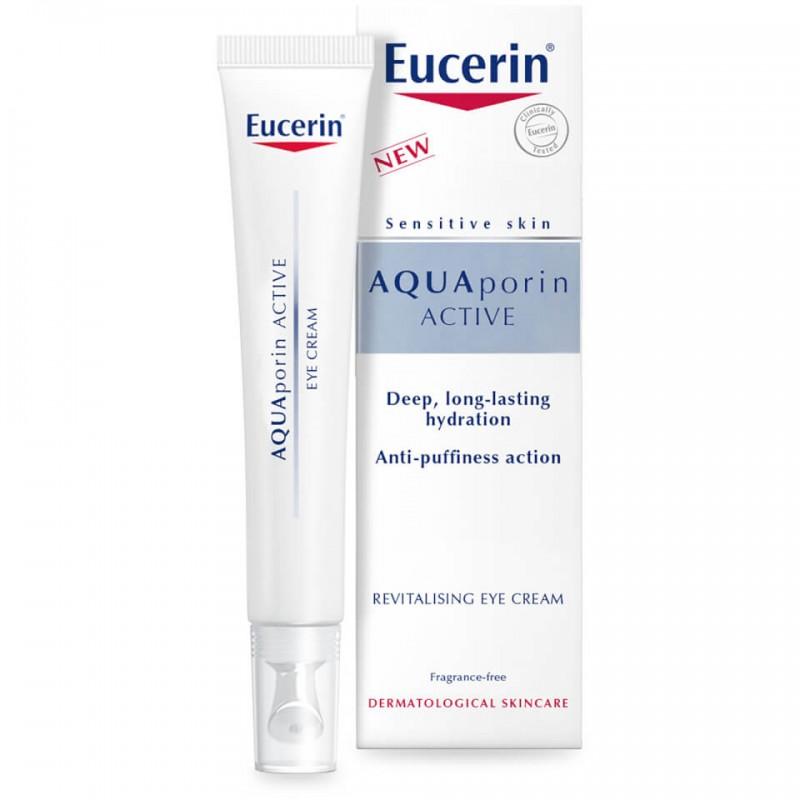 Эуцерин Аquaporin active, Крем для кожи вокруг глаз интенсивно увлажняющий, 15 мл