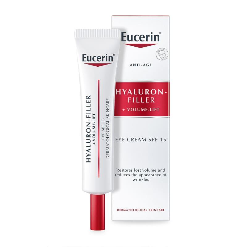 Эуцерин Hyaluron-filler+volume-lift, Крем для кожи вокруг глаз, 15 мл