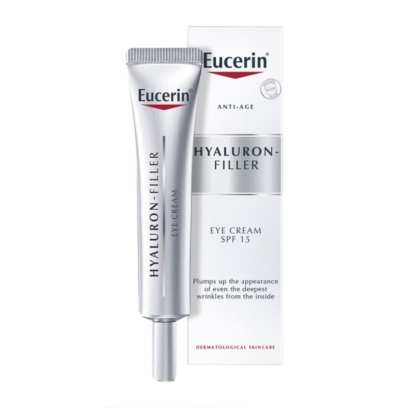 Эуцерин Hyaluron-filler, Крем для кожи вокруг глаз, 15 мл