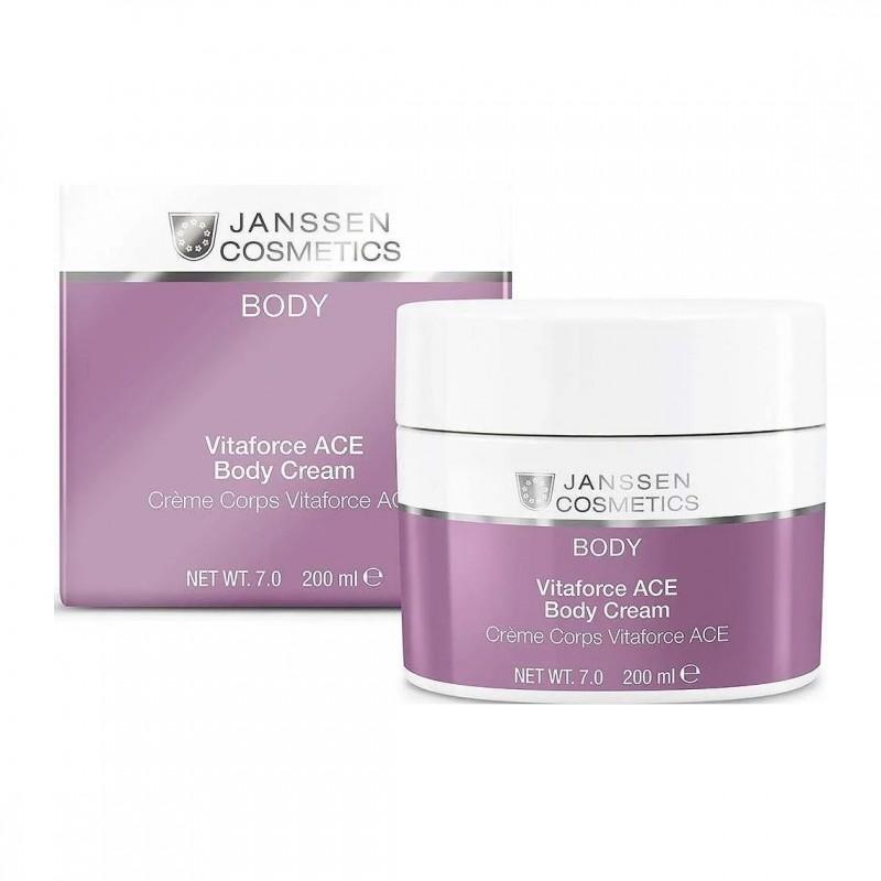 Vitaforce ACE Body Cream / Насыщенный крем для тела с витаминами A, C и E, 200мл