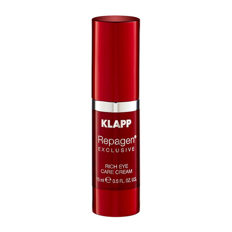 Питательный крем для век, REPAGEN EXCLUSIVE Rich Eye Care Cream, 15 мл., REPAGEN EXCLUSIVE / ОМОЛАЖИВАЮЩАЯ СЕРИЯ, KLAPP