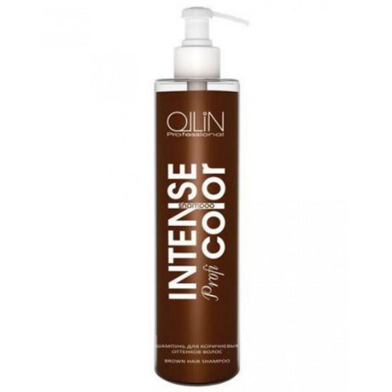 OLLIN INTENSE Profi COLOR Шампунь для коричневых оттенков волос, 250 мл