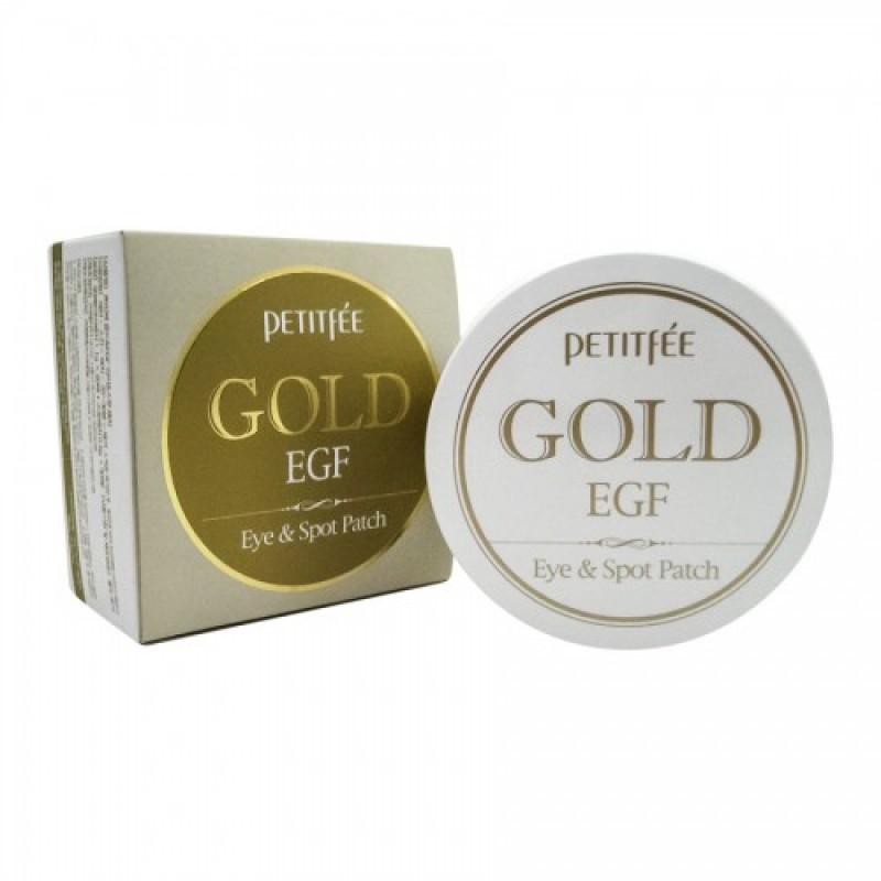 Gold/EGF Eye and Spot Patch / Набор патчей для век гидрогелевых ЗОЛОТО/EGF, 90 шт