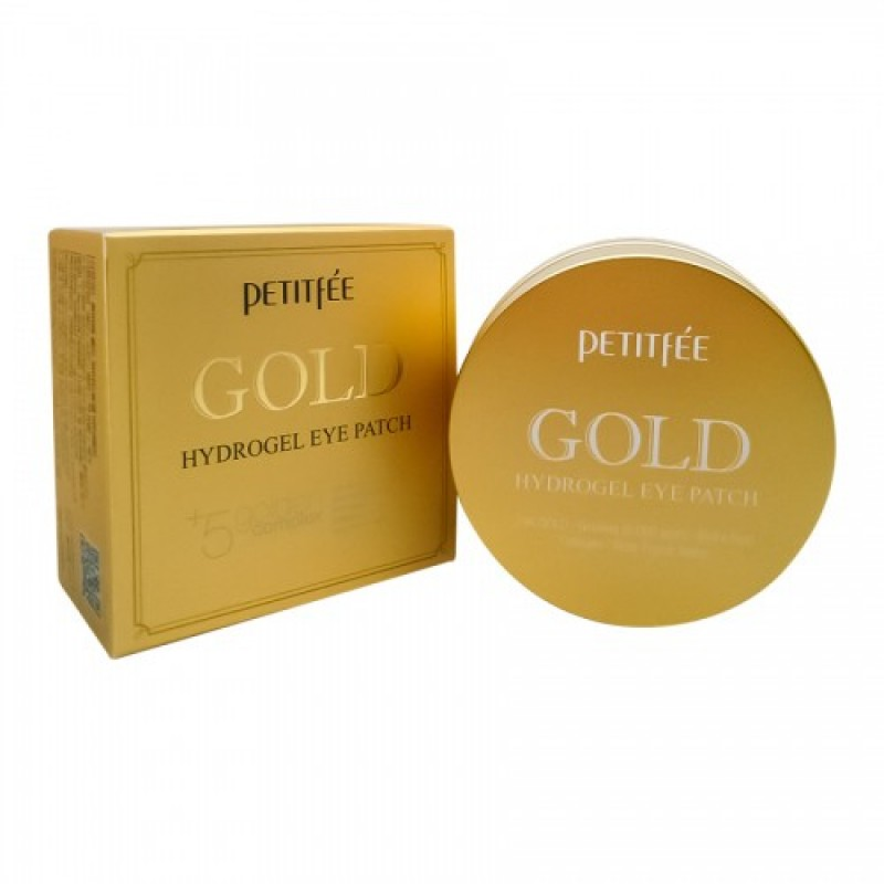 Gold Hydrogel Eye Patch / Набор патчей для век гидрогелевых ЗОЛОТО, 60 шт