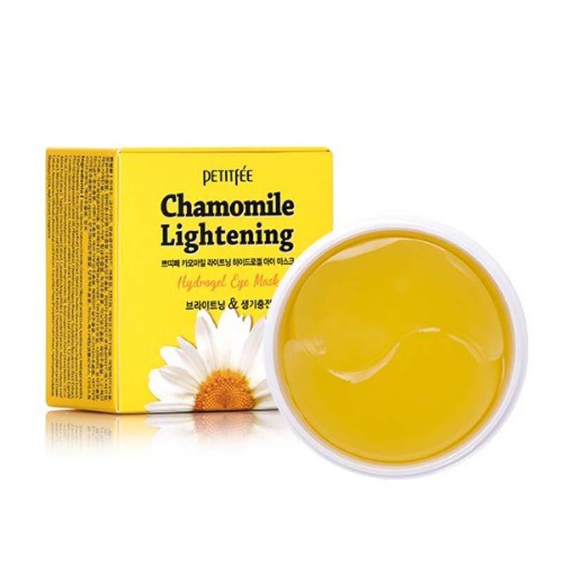 Chamomile Lightening Hydrogel Eye Mask / Набор патчей для век гидрогелевые РОМАШКА, 60 шт