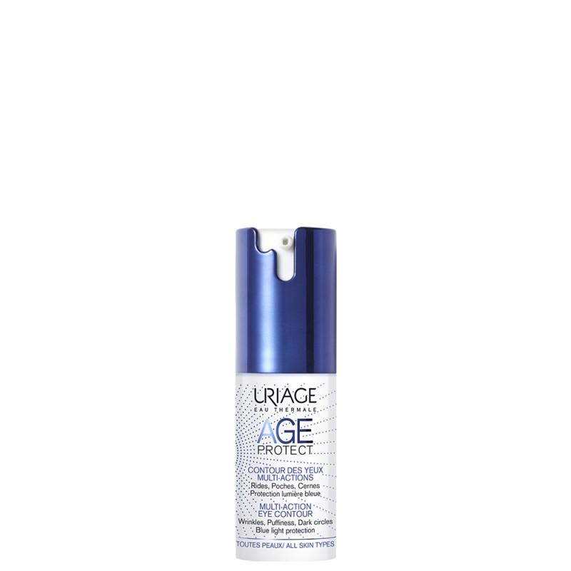 УРЬЯЖ Age Protect (Эйдж Протект) Многофункциональный Крем для кожи контура глаз, флакон-помпа 15 мл